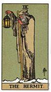the hermit tarot card
