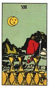 8 of cups tarot card