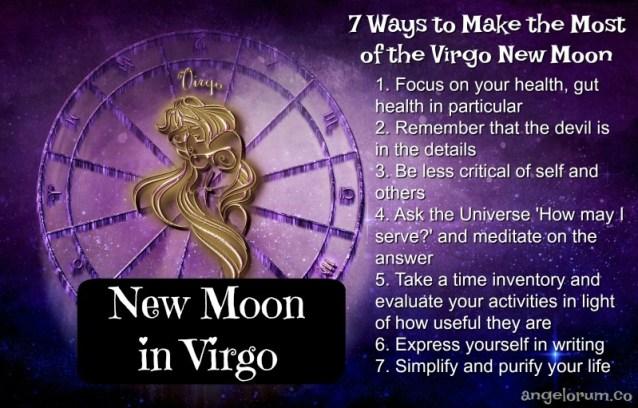 Virgo New Moon 7 Things