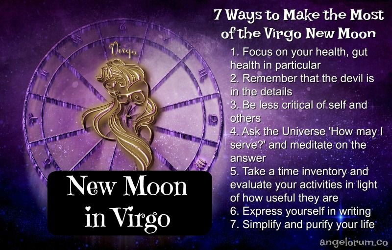 Virgo New Moon 7 Things