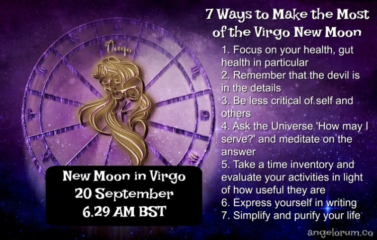 7 things to do to harness the power of the Virgo New Moon