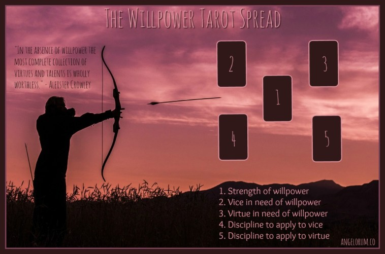 the willpower tarot spread