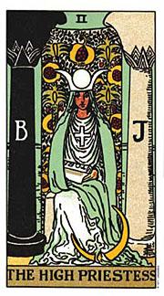 The High Priestess Thanksgiving Tarotscopes
