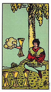 4 of Cups Thanksgiving Tarotscopes