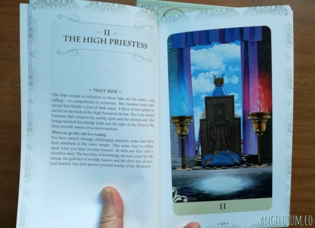 The Vice Versa Companion Book Major Arcana The High Priestess