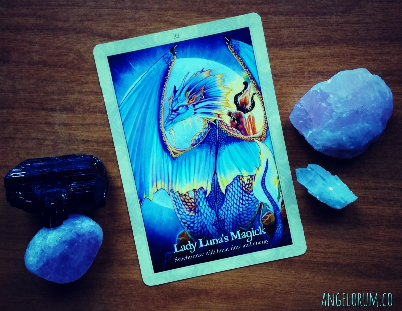 week ahead messages - general msg - lady luna's magick oracle of the dragonfae
