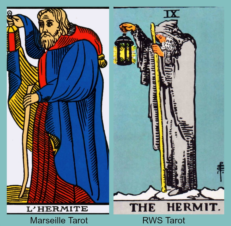 Image result for hermit tarot