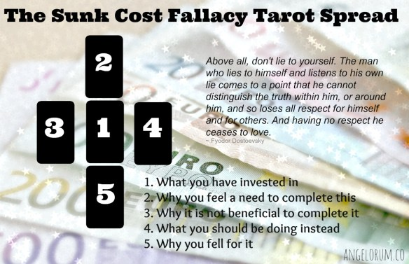 The Sunk Cost Fallacy Tarot Spread ⋆ Angelorum - Tarot and