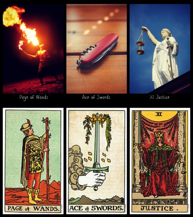 whistleblowing frideborg tarot and rws tarot