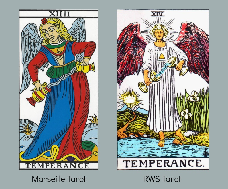 7 Facets of the Tarot Temperance Card