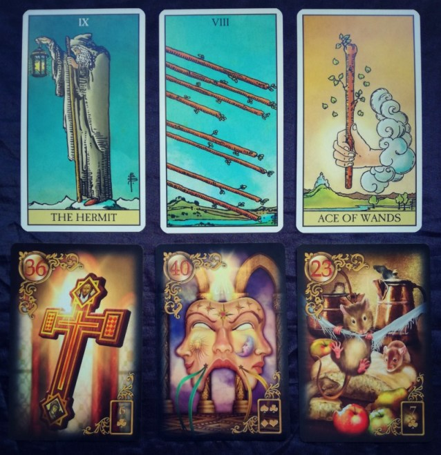 Week Ahead Tarot and Lenormand Messages Reveal