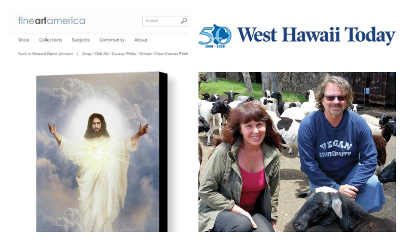 Doreen Virtue Monetizes Real Jesus and Performs Miracle