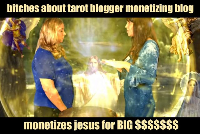 Persecution of Christians by blogger with monetized blog lol