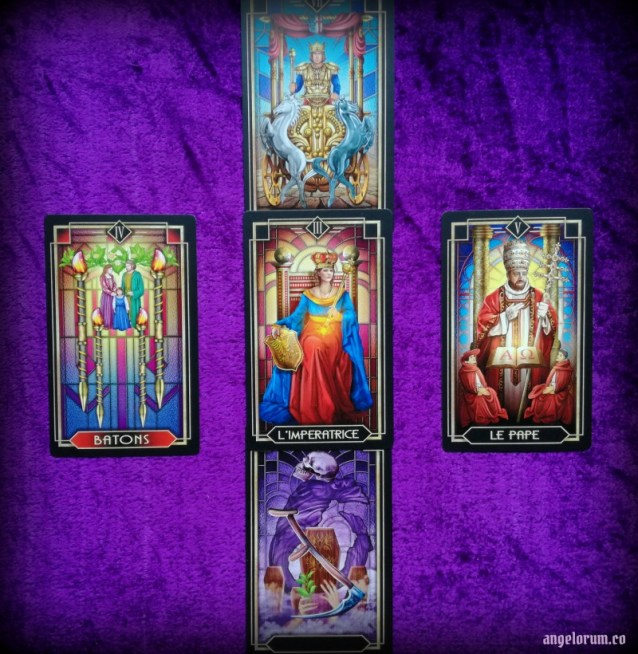Litha Solar Power Tarot Spread - Sample Reading with the Tarot Decoratif