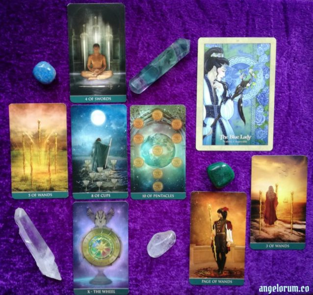 Mercury Retrograde in Leo Tarot Spread Sample Reading
