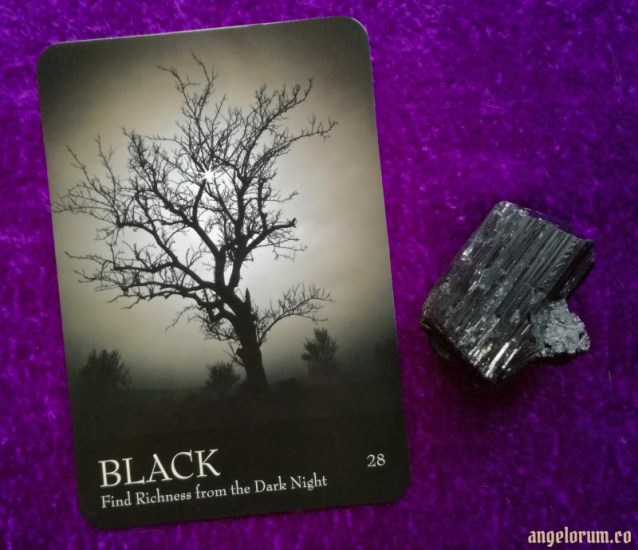 Black from the Secret Language of Color Cards