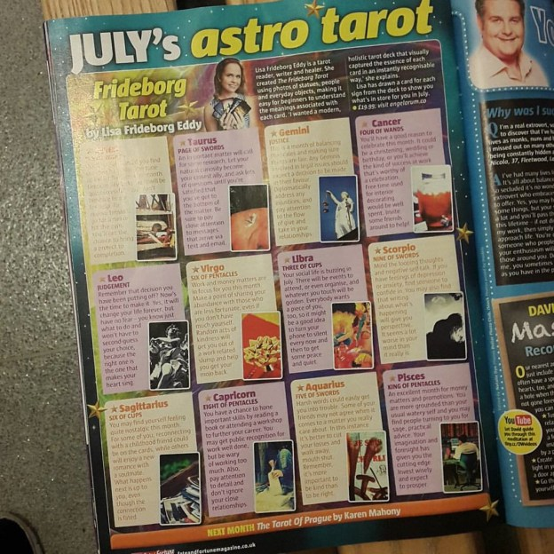 fate and fortune magazine july 2016 frideborg tarot