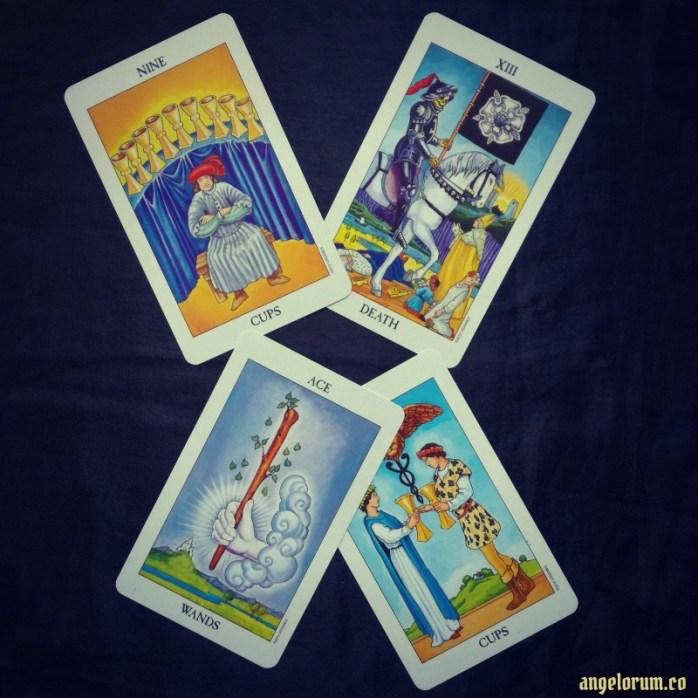 Gebo Relationship Harmony Tarot Spread Sample Reading