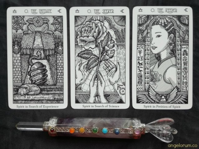Spirit Keeper's Tarot 3 Fool Cards