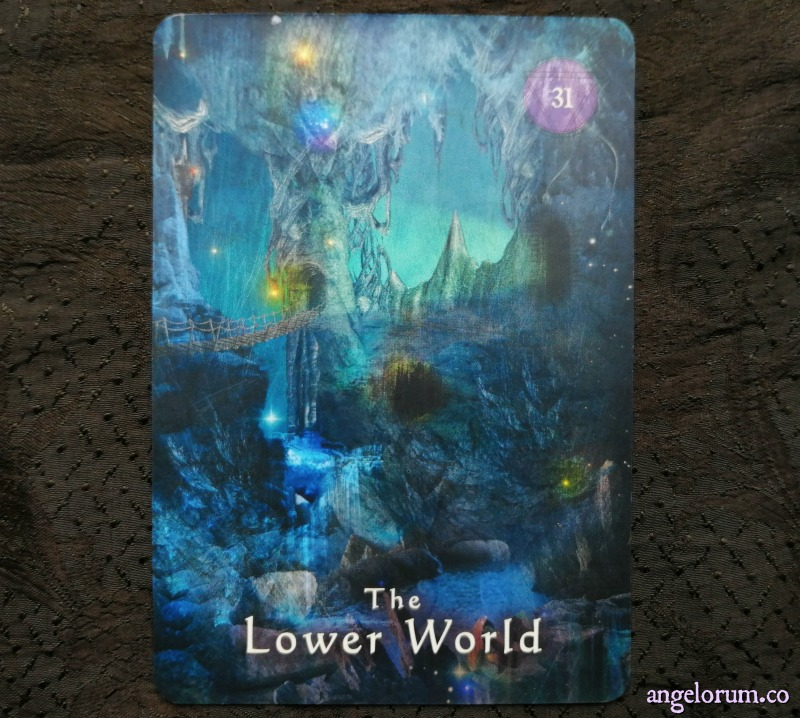 The Lower World from the Mystical Shaman Oracle