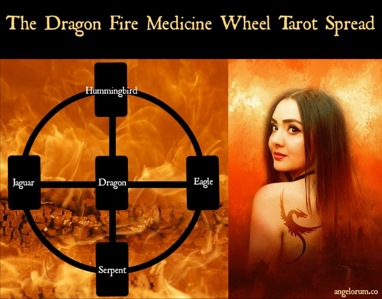 Dragon Fire Medicine Wheel Tarot Spread