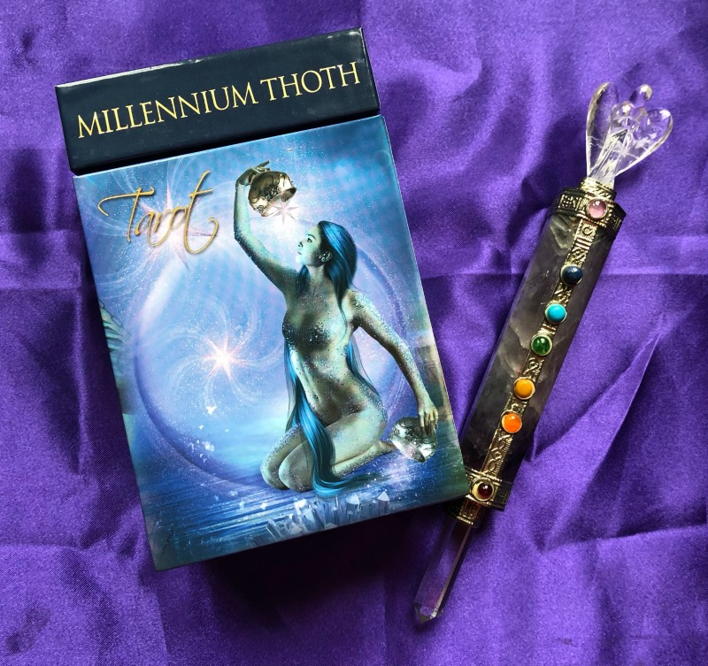 Millennium Thoth Tarot Deck Interview + Video Comparison with the