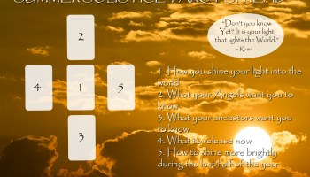 The 'Hello From Heaven' Tarot Spread - A Spread for