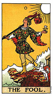 22 Daily Intentions Tarot The Fool