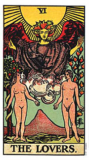 22 Daily Intentions Tarot The Lovers