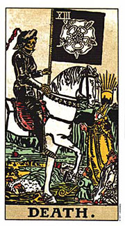 22 Daily Intentions Tarot Death