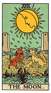 22 Daily Intentions Tarot The Moon