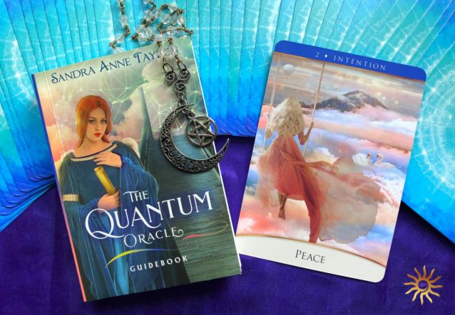 the quantum oracle by sandra anne taylor review and deck interview