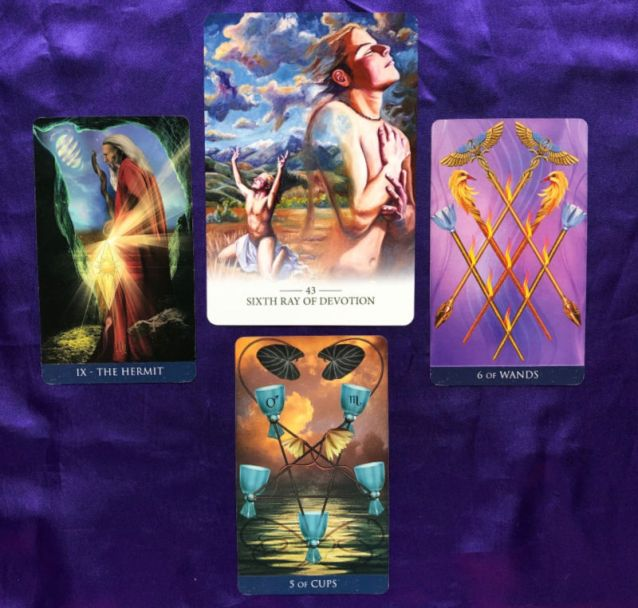 Week Ahead Pick-a-Card Lightworker Oracle and Millennium Thoth Tarot Pile 3
