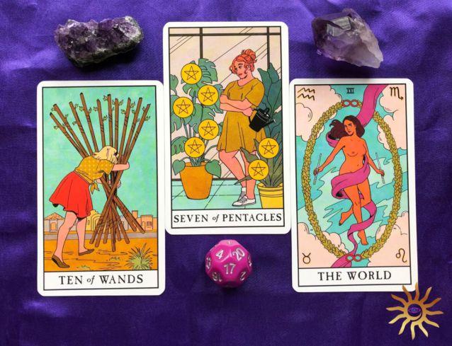 New Moon Message from Spirit Modern Witch Tarot