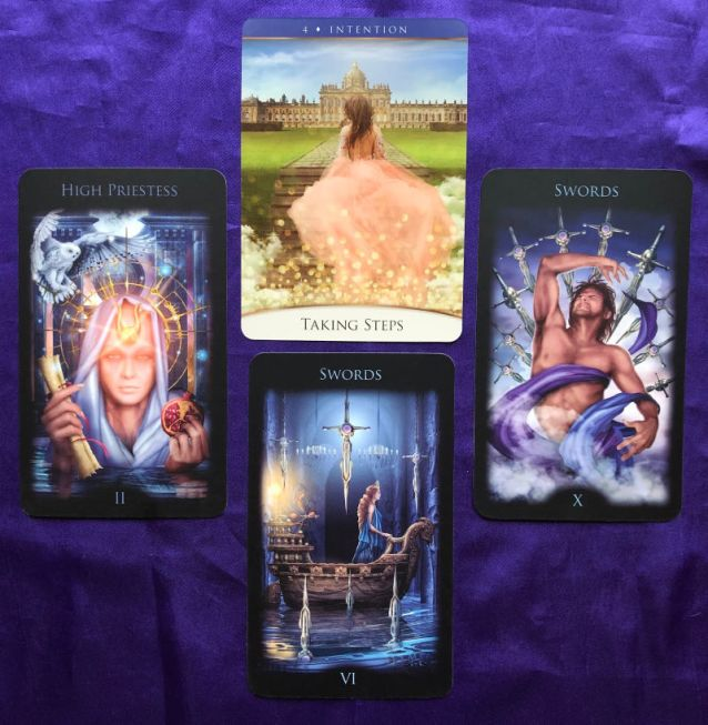 Week Ahead Pick a Pile Tarot Readings 4-12 November Pile 1