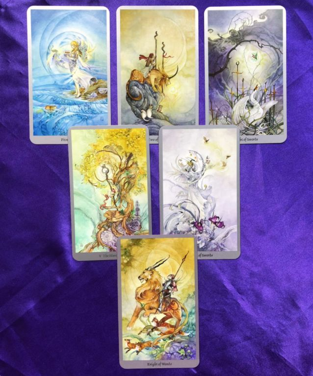 Tarot Spread for the 2020 Mercury Rx in Pisces & Aquarius - Sample reading with the Shadowscapes tarot