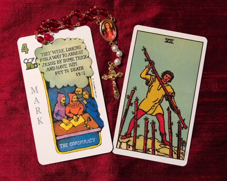 week ahead gospel and tarot meditation