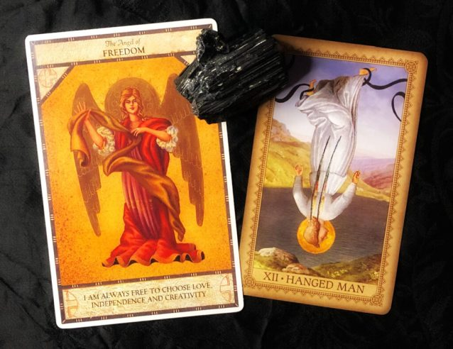 week ahead reading with the angel oracle and the influence of the angels tarot
