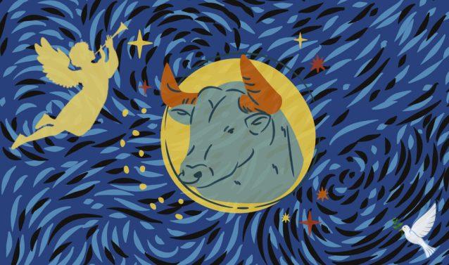 Taurus New Moon Angel of Mystical Joy