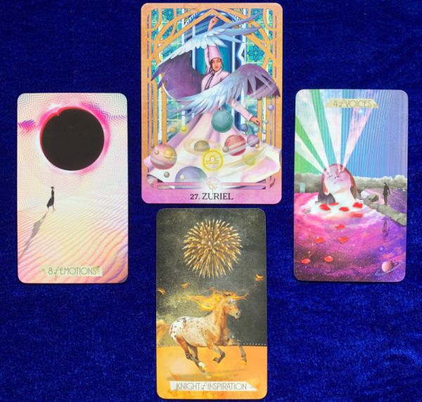 pick a star week ahead tarot and oracle card reading - starfish