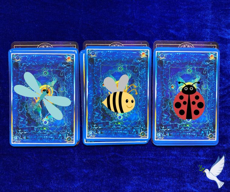 week ahead pick a pile forecasts with the ARK animal oracle and the Angel Tarot Cards
