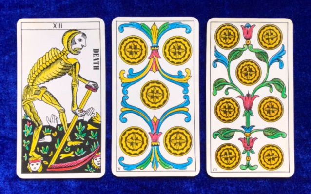 Tarot Classic Pick a Pile for the Week Ahead - pile 3