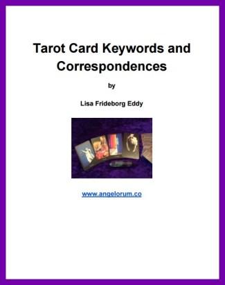 Tarot Keywords FREE PDF download