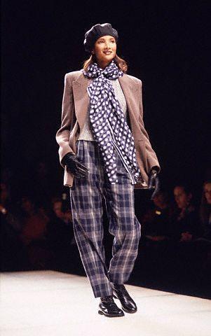 Armani Fashion Show, 1992 da/from www.corbis.com