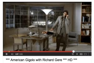 "American Gigolò"" 1980"