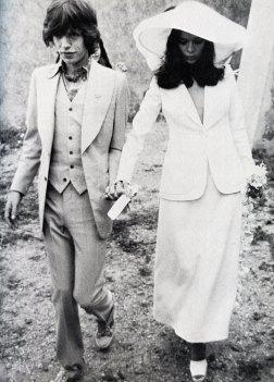 abito anni '70 - Bianca Jagger