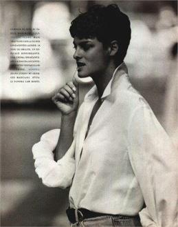 V&A STILISTI - CAMCIA FERRE'(VOGUE, 1989) - più maschile2