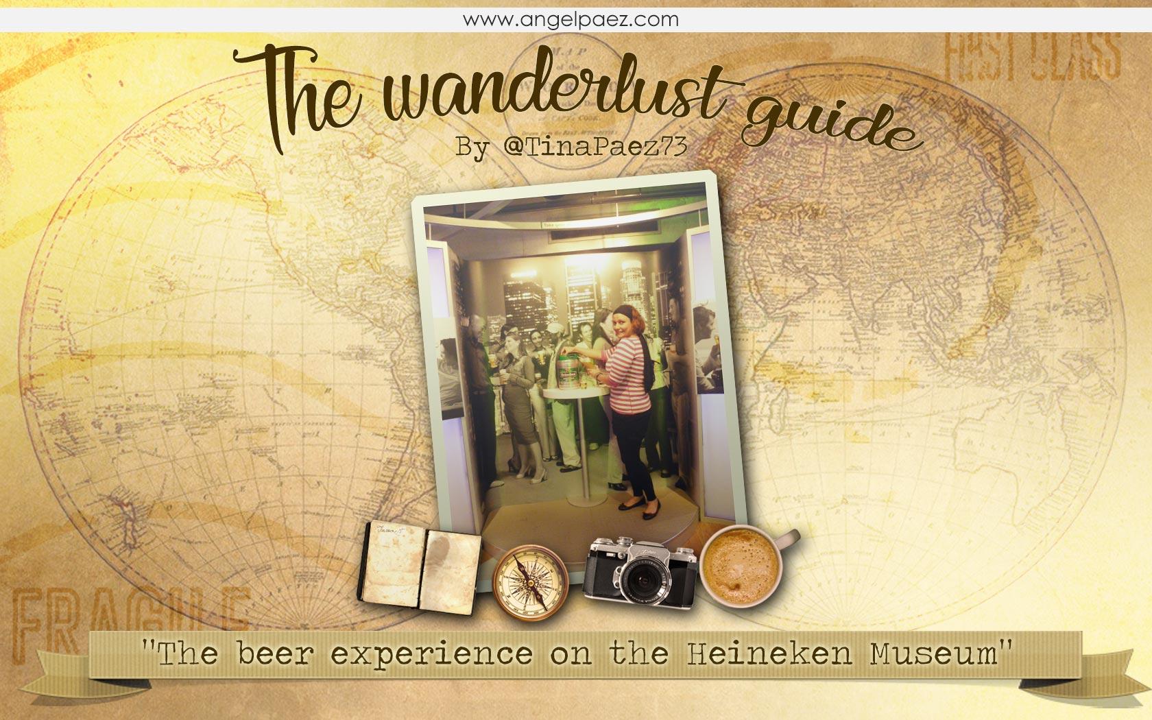 the beer experience of heineken museum tina paez