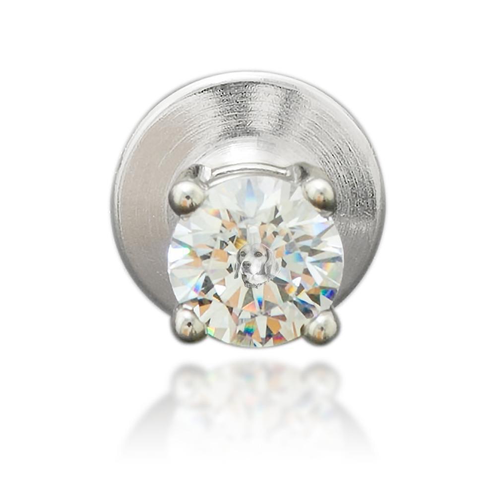 Memori Diamond Lapel Pin