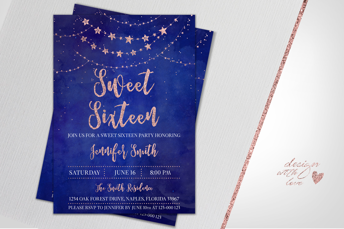 Sweet 16 Birthday Card For Daughter Angel Photography